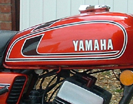 Decals for Classic Yamaha RD Series, 1973-75