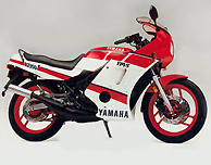 1986-88 RD350 YPVS Decal Set for White and Red Model